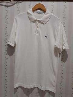 Burberrys Vintage Polo White