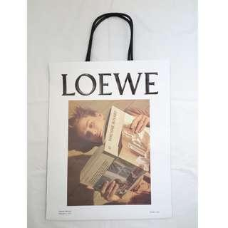 Loewe small size shopping bag 細紙袋 (可放小型手袋及小皮具)