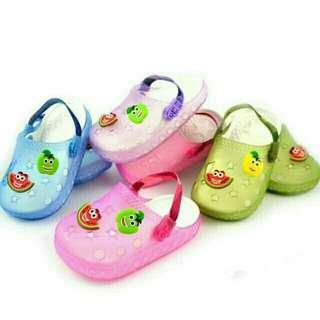 Jelly shoes kids watermelon