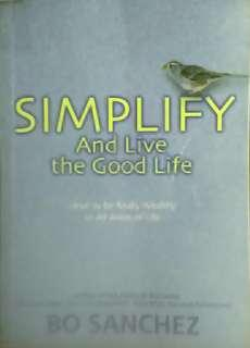 Simplify And Live the Good Life (Christian book)