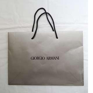Giorgio Armani small size shopping bag 細紙袋