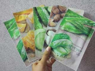 Set 1 Nature Republic Face Mask #declutterwithjohanis