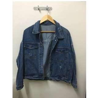 Oversized Denim Jacket (bought from Korea)