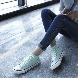 [HAVE TO GO!!] CONVERSE INSPIRED TURQUOISE SHOE
