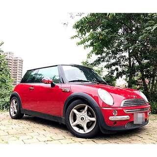 全額貸專區~2004年MINI C00PER 1.6 全景天窗 車況完善 該整理的都整理好了! 最可愛的小車  價錢也很可愛 #車子泰山 #3500即可交車 #賴momoco1103 #歡迎來店賞車