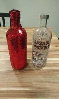Limited Edition Vodka glittering cover and Bottle