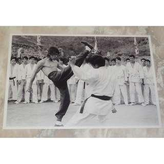 "Rare Bruce Lee In Enter The Dragon 8 x 12"" Matt Photo 李小龍 龍爭虎鬥"