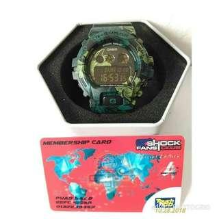 G-SHOCK GMD-S6900F-1 GREEN FLORAL