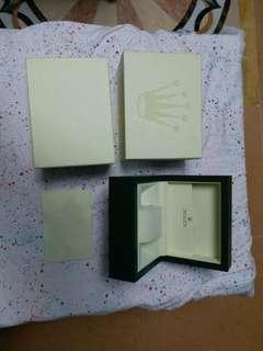 Rolex box 勞力士 表盒 合 舊款 90%新 細盒 small size 100%真勞力士