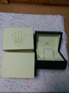 勞力士 合 盒 rolex box 舊款 90%新 細盒 small size 100%真勞力士盒