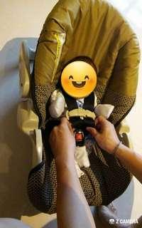 Infant carseat for blessing