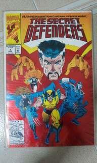 Marvel Comics - The Secret Defenders #1