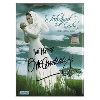SITI NURHALIZA - Tahajjud Cinta 2009 DIGIPAK CD + ORIGINAL AUTOGRAPH