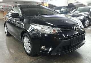 2014 Toyota Vios E 1.5 MANUAL.Kunci TOMBOL(Keyless Botton).New MODEL.Terawat.Service RECORD