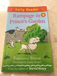 Early Reader Rampage in Prince's Garden