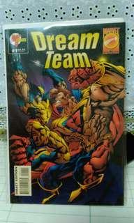 1995 Marvel Malibu Comics One Shot Dream Team #1