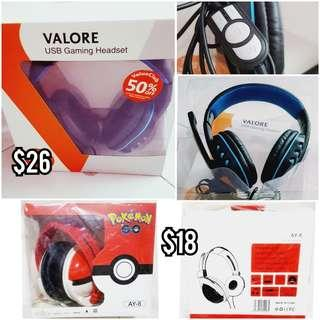 VALORE /POKEMON Headphone