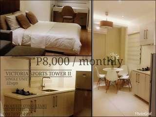 8k Monthly Condominium Rent to own For sale in Q.C