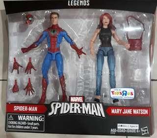 Marvel Legends Spiderman TRU Exclusives