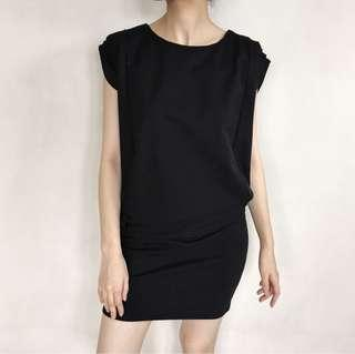 Premium Black Bodycon Dress