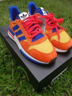 9263ae8df97a2 Adidas Dragon Ball Z ZX 500 RM Goku