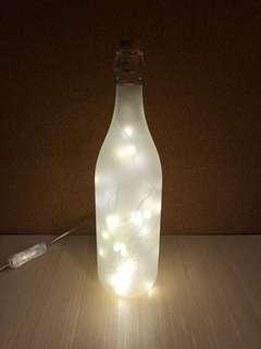 For Rent Frosted Bottle Fairy Lights