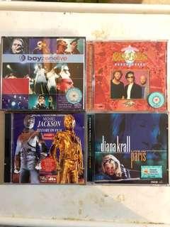 VCD : English karaoke song disc