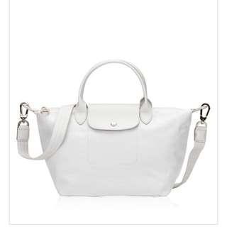 Longchamp le Pliage Neo Silver