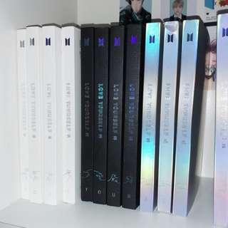 wtb/wts bts love yourself her tear answer unsealed albums