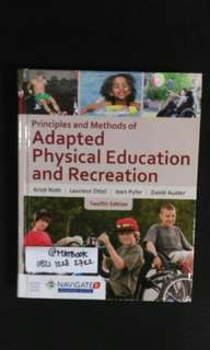 Principles And Methods of Adaptor Physical Education And Recreation 12ed