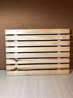 Dessert Table Rental Props - Wooden Display Board
