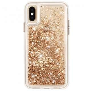 """🚚 美國 Case-Mate iPhone Xs Max (6.5"""") Waterfall 亮粉瀑布防摔手機殼 - 金色"""