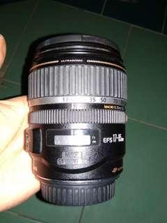 lensa wide 17-85mm canon tuker tambah