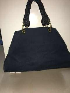 BV Bottega Veneta Braided Leather Handle Tote 👜