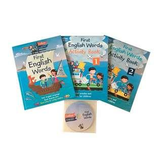 First English Words Activity Pack Of 3