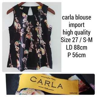 CARLA FLOWER BLOUSE
