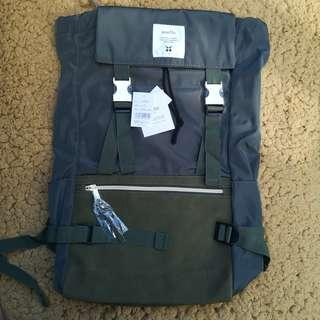 Anello Nylon Gold Buckle Backpack Rucksack AT-B1493