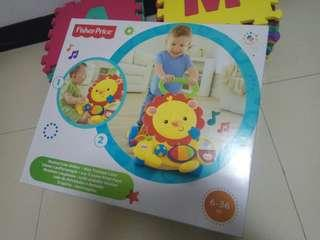 New Fisher Price Lion Walker