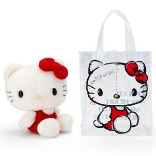 41f44e28a3e7  PO  Sanrio Japan Hello Kitty Action Touch Bag with Hello Kitty Plush