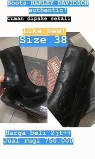 Boots harley davidson like new