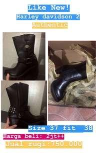 Boots harley davidson auth