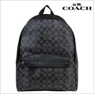 Authentic Coach F55398 Signature Charles Backpack
