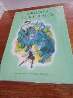 Grimms Fairy tales HB illustrated Version