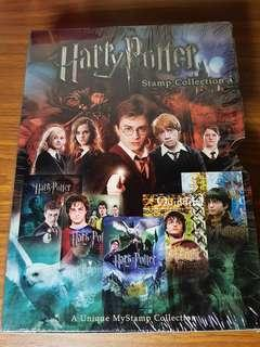 Harry Potter Stamp Collection
