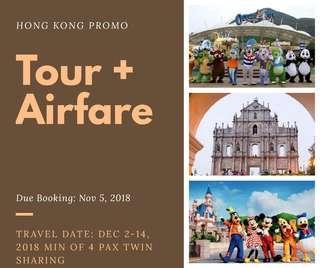 Hong Kong Promo