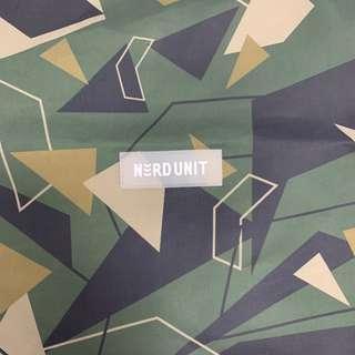 Nerd unit drawstring bag