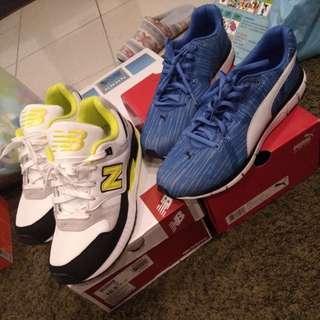 運動鞋全新二雙,每雙1000(白鞋已售出