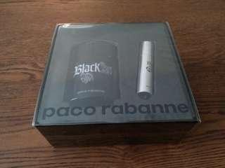 Authentic Black XS Perfume Gift Set for Men