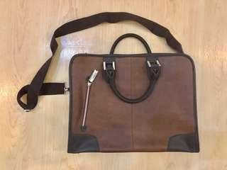 Leather office bag (Brand New)