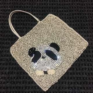 Anteprima Panda Tote with Swarovski Crystals